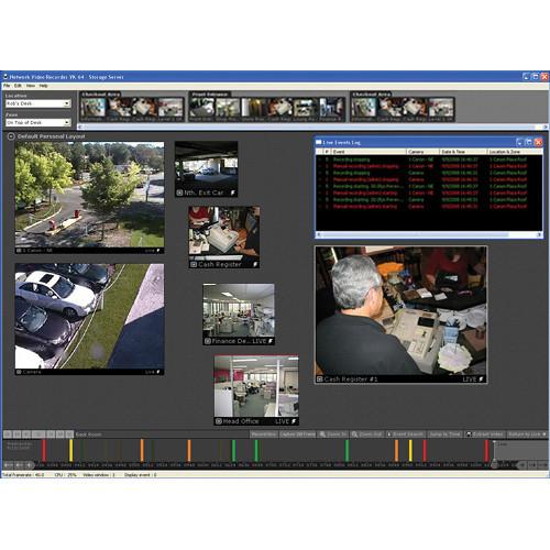 Canon VK-64 v2.2 Network Video Recording Software