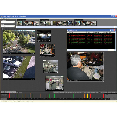 Canon VK-16 v2.2 Network Video Recording Software