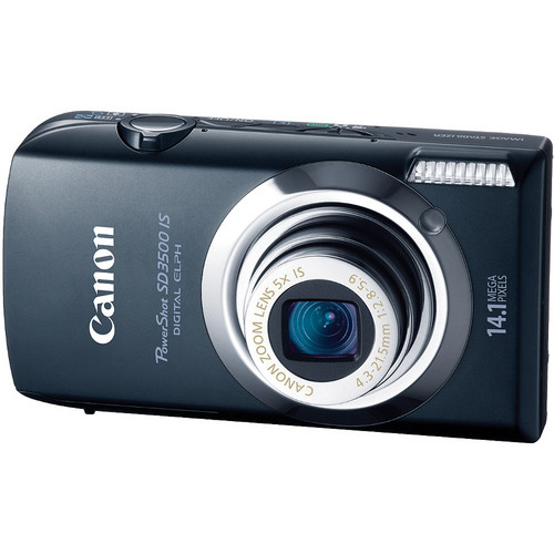 Canon PowerShot SD3500 IS Digital ELPH Camera (Black)