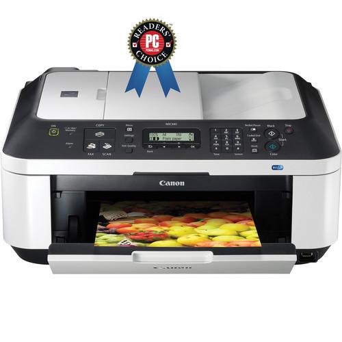 Canon PIXMA MX340 Wireless All-In-One Photo Printer