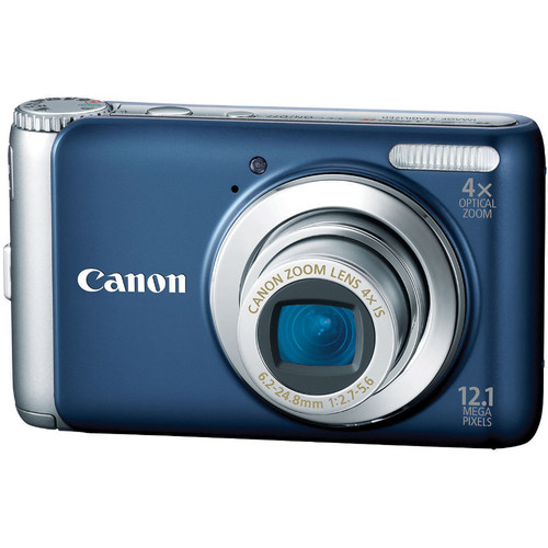 Canon PowerShot A3100 IS Digital Camera (Blue)