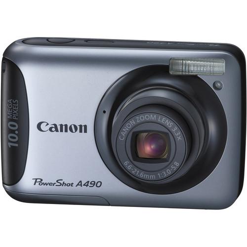 Canon PowerShot A490 Digital Camera