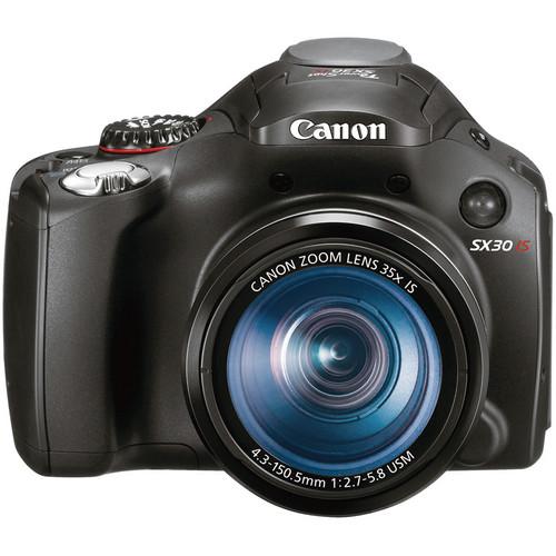 Canon PowerShot SX30 IS Digital Camera