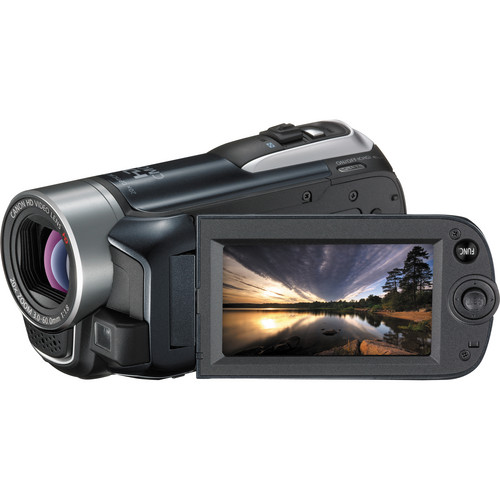 Canon VIXIA HF R10 Dual Flash Memory Camcorder (Black)