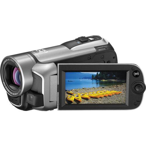 Canon VIXIA HF R10 Dual Flash Memory Camcorder (Silver)