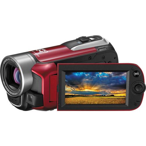 Canon VIXIA HF R10 Dual Flash Memory Camcorder (Red)