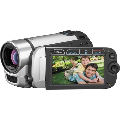 Canon FS300 Flash Memory Camcorder (Silver)