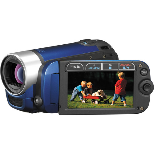 Canon FS300 Flash Memory Camcorder (Blue)