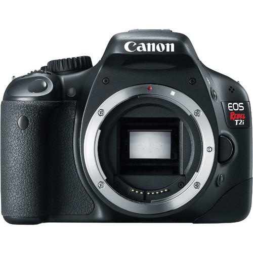 Canon EOS Rebel T2i Digital SLR Camera (Body Only)