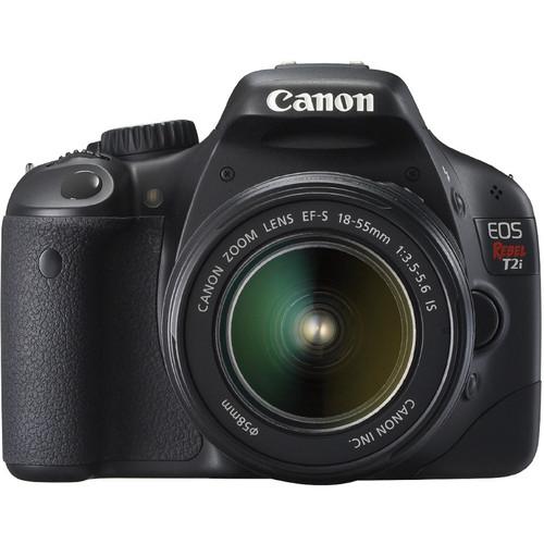Canon EOS Rebel T2i Digital SLR Kit w/ EF-S/18-55 IS II