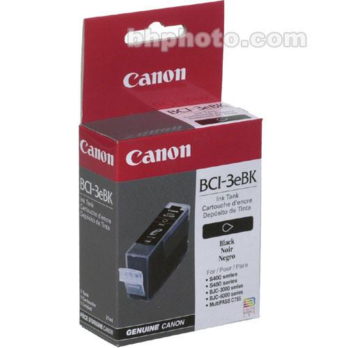 Canon BCI-3eBk Black Ink Tank