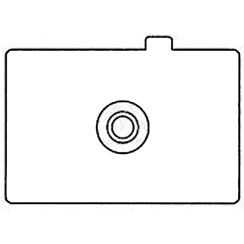 Canon Ec-A Focusing Screen for EOS 1, 1N, 1N-RS, 1V, 1V-HS, EOS 3, D2000 & 1D Series Cameras - Matte with Microprism