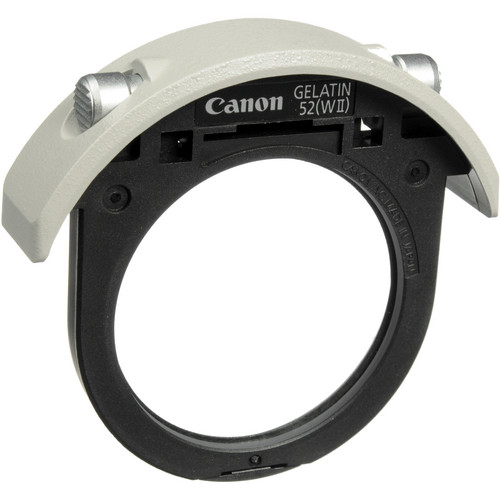 Canon 52mm Drop-in Gelatin Filter Holder (Black)