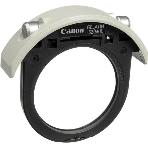 Canon 52mm Drop-in Gelatin Filter Holder (Black)