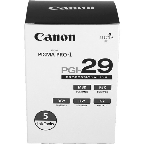 Canon PGI-29 Monochrome Ink Tank Value Pack