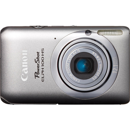 Canon Powershot 100 HS Digital ELPH Camera (Silver)