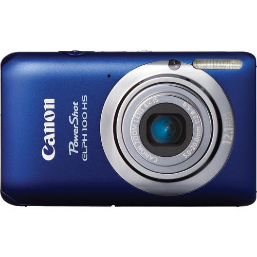 Canon Powershot 100 HS Digital ELPH Camera (Blue)