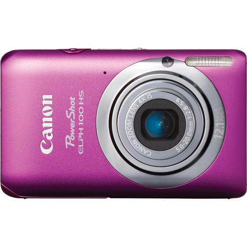 Canon Powershot 100 HS Digital ELPH Camera (Pink)