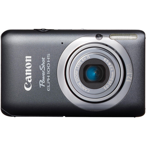 Canon Powershot 100 HS Digital ELPH Camera (Gray)