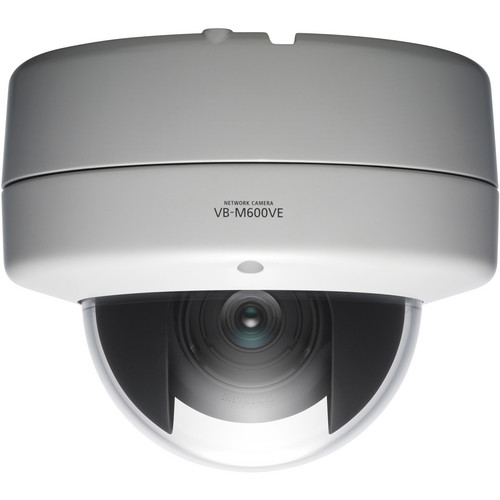 Canon VB-M600VE Fixed Vandal-Resistant Network Dome Camera