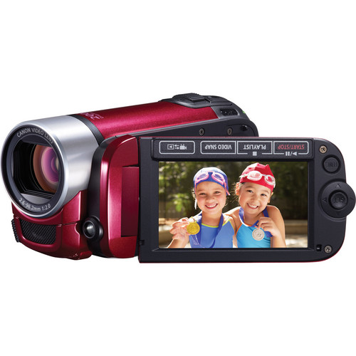 Canon FS400 Flash Memory Camcorder (Red)