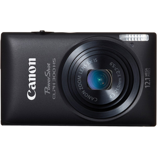 Canon Powershot 300 HS Digital ELPH Camera (Black)