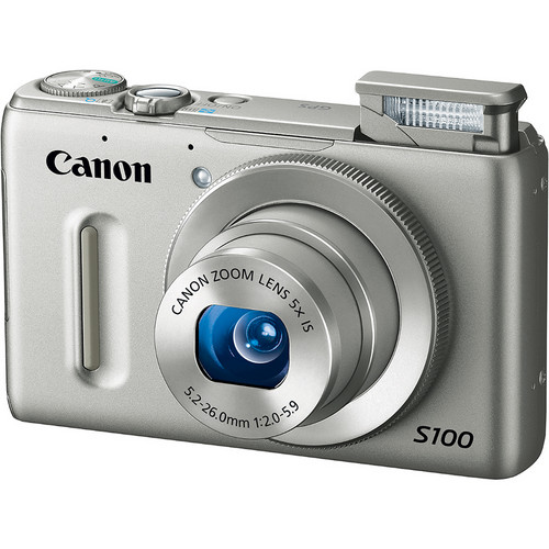 Canon PowerShot S100 Digital Camera (Silver)