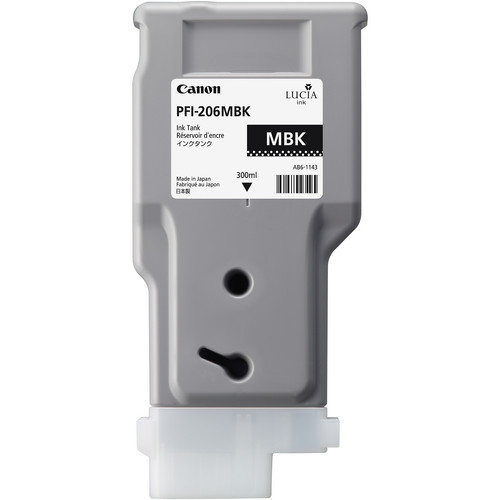 Canon PFI-206 Matte Black Ink Cartridge (300 ml)