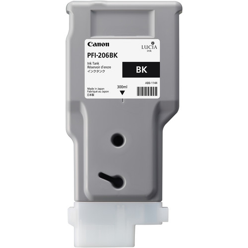 Canon PFI-206 Black Ink Cartridge (300 ml)