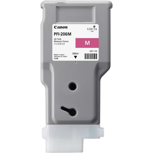 Canon PFI-206 Magenta Ink Cartridge (300 ml)