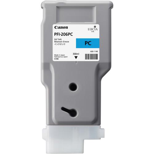 Canon PFI-206 Photo Cyan Ink Cartridge (300 ml)