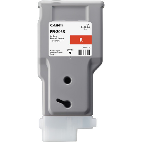 Canon PFI-206 Red Ink Cartridge (300 ml)