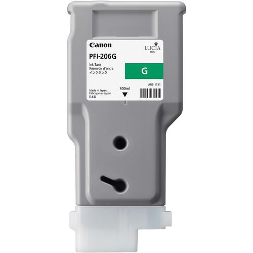 Canon PFI-206 Green Ink Cartridge (300 ml)