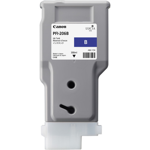 Canon PFI-206 Blue Ink Cartridge (300 ml)