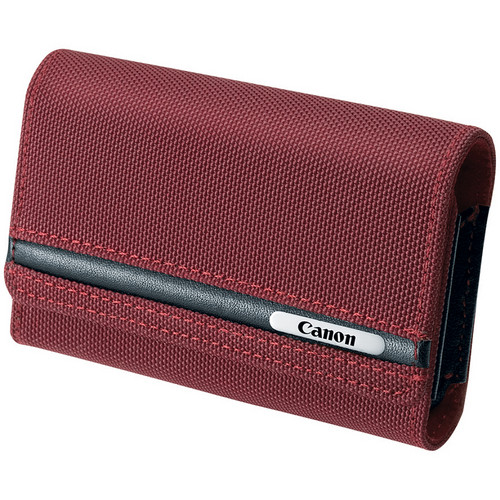 "Canon PSC-2070 Deluxe Soft Camera Case (4 x 2.75 x 1.1"", Red)"