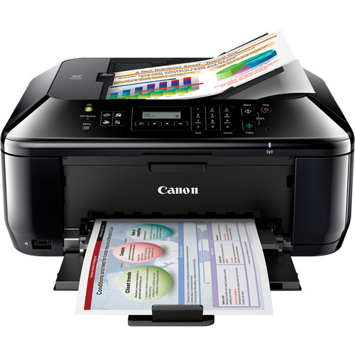 Canon PIXMA MX432 Wireless All-In-One Color Inkjet Office Printer
