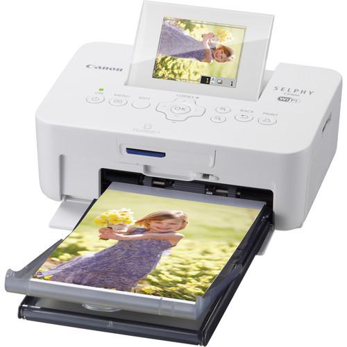 Canon White Selphy CP900 Compact Wireless Photo Printer