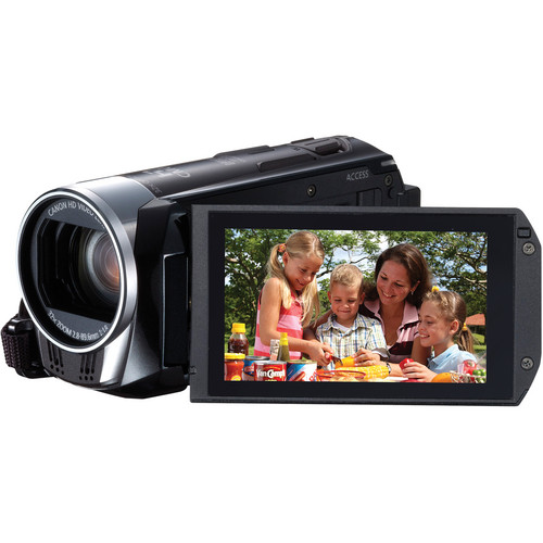 Canon 8GB LEGRIA HF R36 HD Camcorder with WiFi (PAL, Black)
