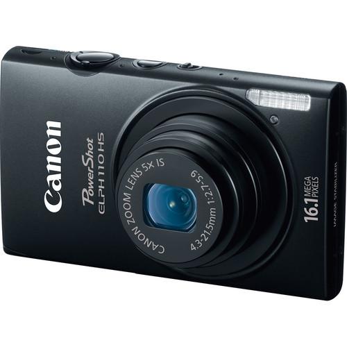 Canon PowerShot ELPH 110 HS Digital Camera (Black)