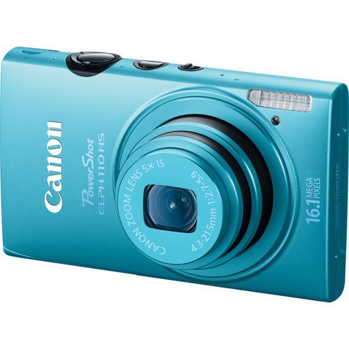 Canon PowerShot ELPH 110 HS Digital Camera (Blue)