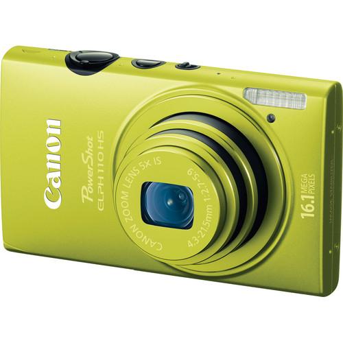 Canon PowerShot ELPH 110 HS Digital Camera (Green)