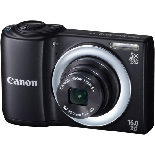 Canon PowerShot A810 Digital Camera (Black)