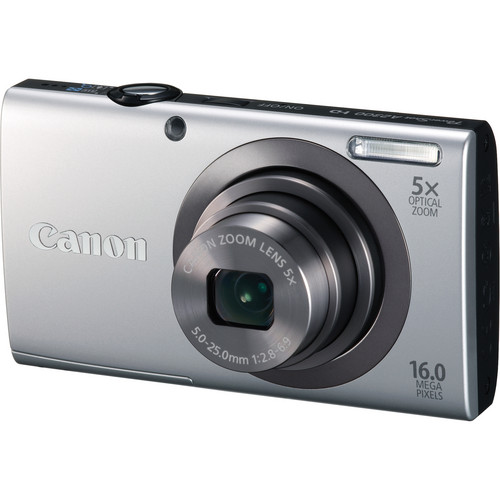 Canon PowerShot A2300 Digital Camera (Silver)