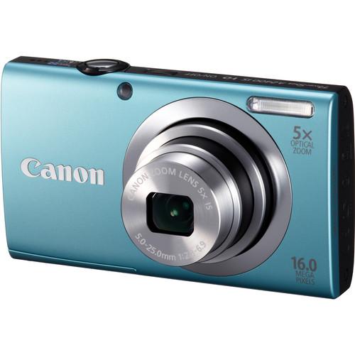 Canon PowerShot A2400 IS Digital Camera (Blue)
