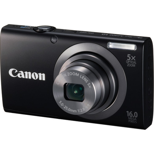 Canon PowerShot A2300 Digital Camera (Black)