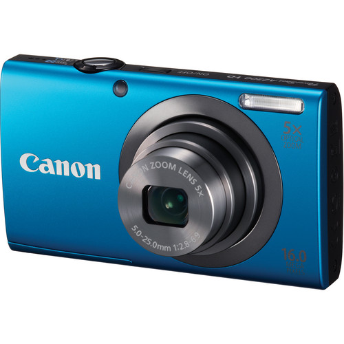 Canon PowerShot A2300 Digital Camera (Blue)