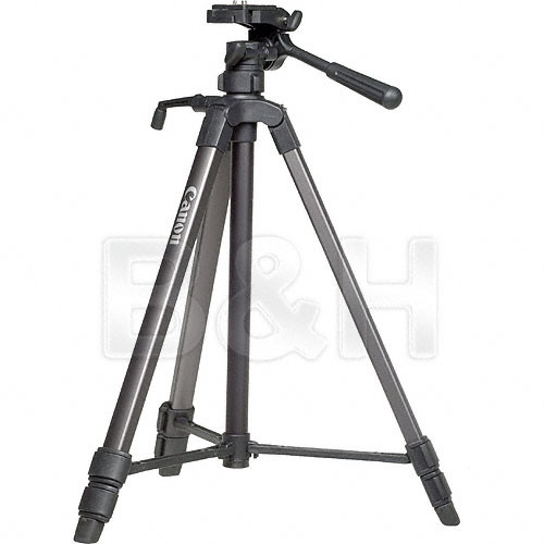 Canon Deluxe Tripod 200 (Quick Release) with 3-Way Panhead & Free Case