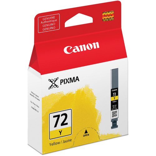 Canon LUCIA PGI-72 Yellow Ink Tank