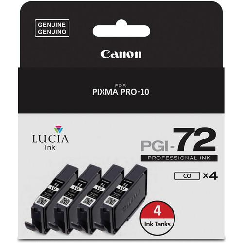 Canon PGI-72 Chroma Optimizer Ink Tank (4-Pack)