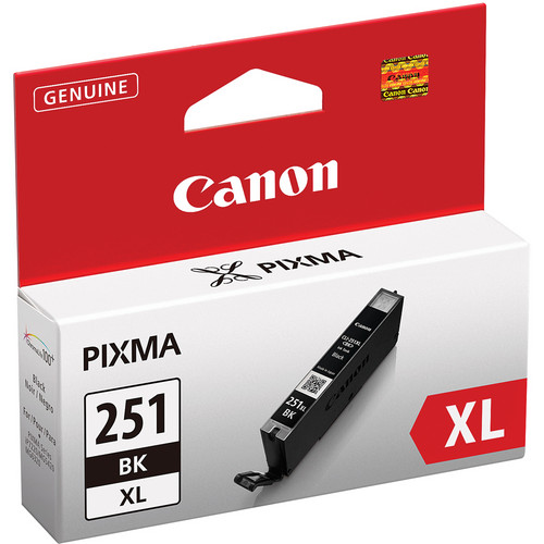 Canon CLI-251BK XL High-Capacity Black Ink Tank